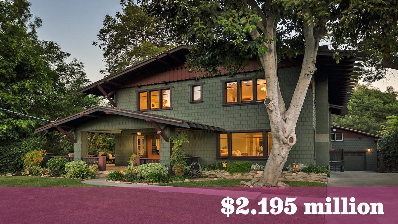 Pasadena craftsman hits the market for the first time in a for Pasadena craftsman homes