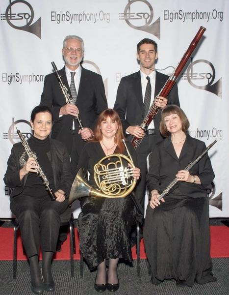 The ESO Woodwind Quintet to perform at Poplar Creek Library October 15, 2 pm