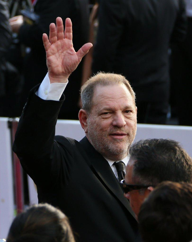 Harvey Weinstein at the Academy Awards in 2016. (Jean Baptiste Lacroix / AFP/Getty Images)