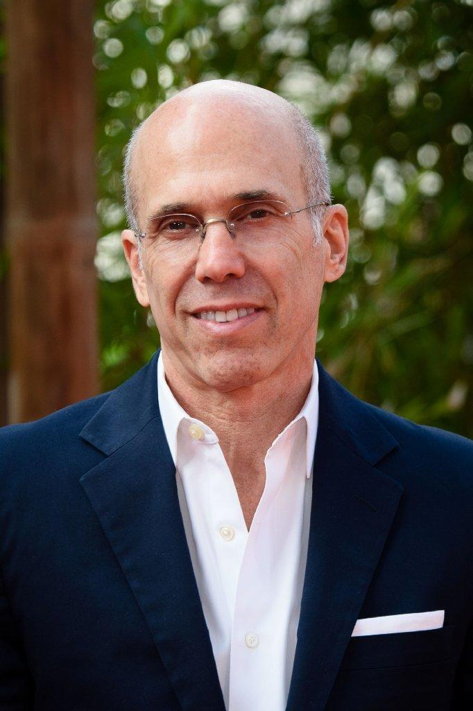 Jeffrey Katzenberg publicly released an email he sent to Harvey Weinstein condemning the producer's behavior. (Leon Neal / AFP/Getty Images)