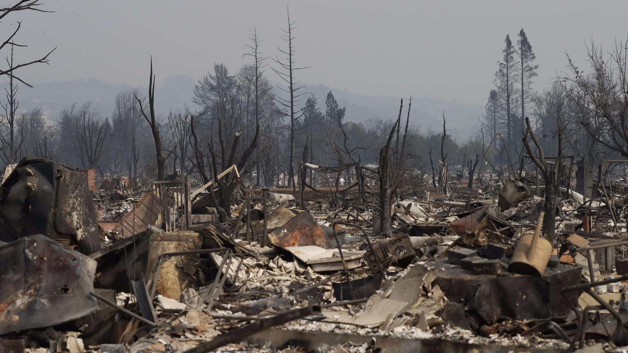Santa Rosa's charred now, but we're all facing fire (or flood or heat wave) soon