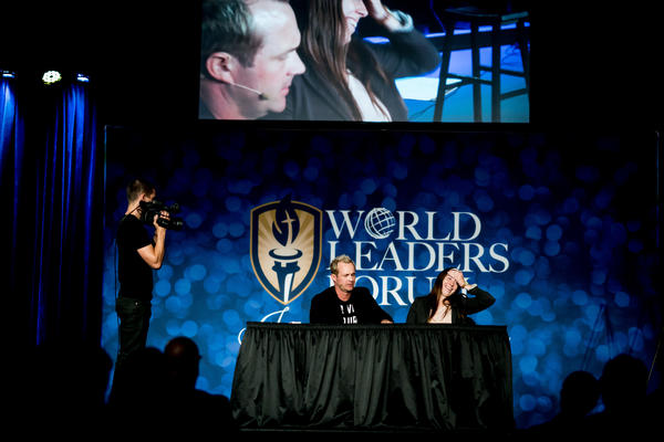 Famed illusionist tells Judson University audience that it was not magic but a miracle that cured his cancer