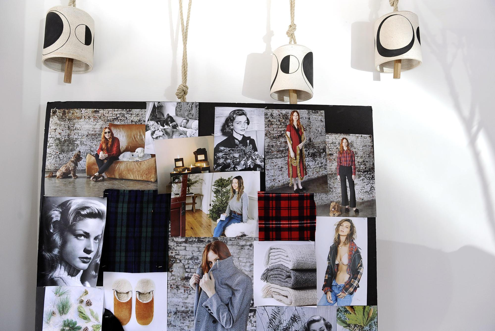A look at a mood board created by designer Jenni Kayne.