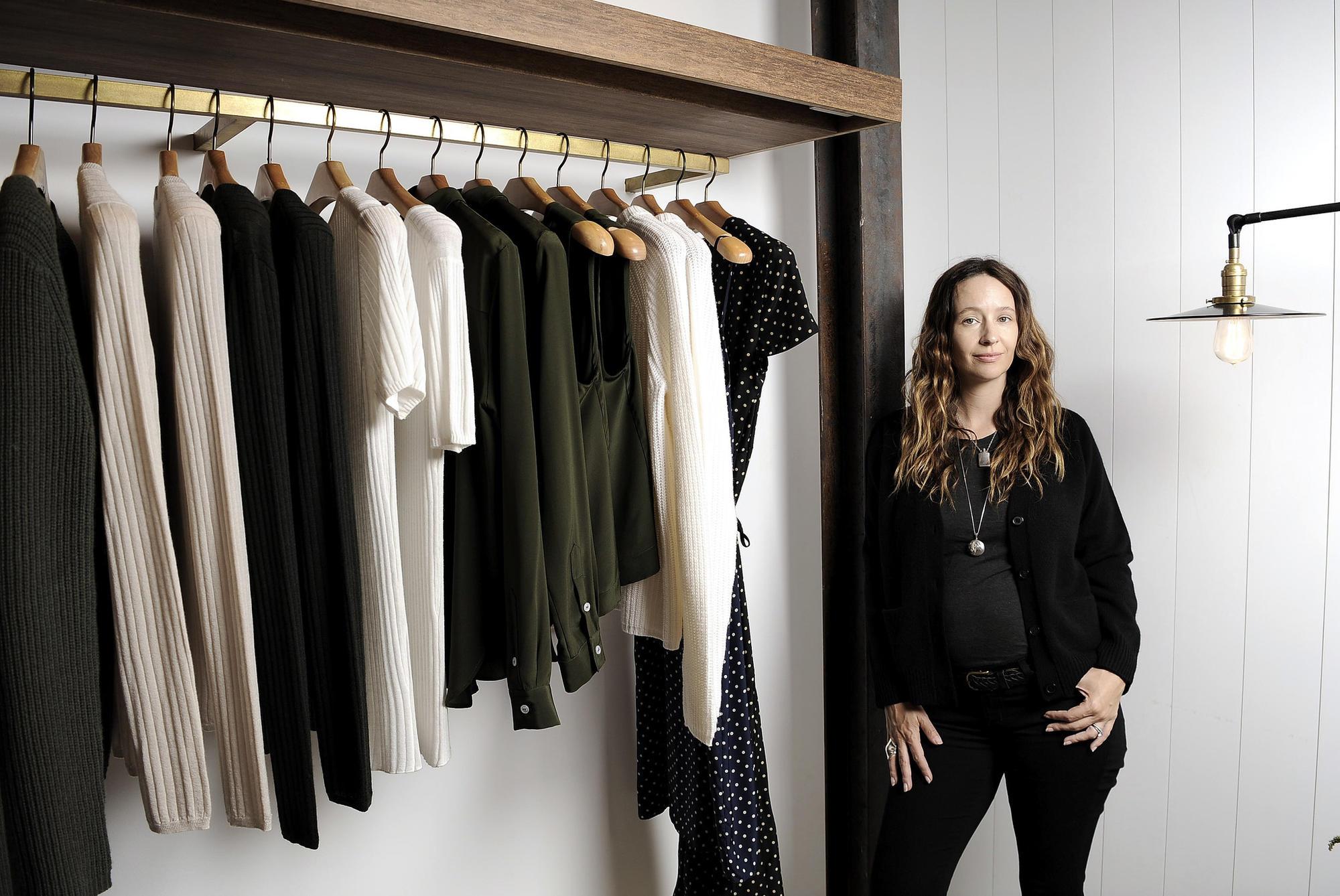 Designer Jenni Kayne at her Brentwood store.