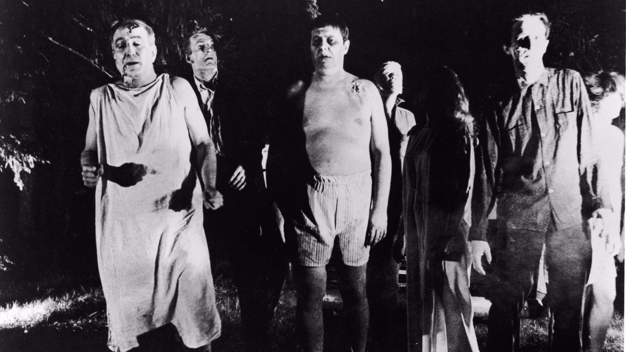 "George Romero's ""Night Of The Living Dead."" (Pictorial Parade / Getty Images)"