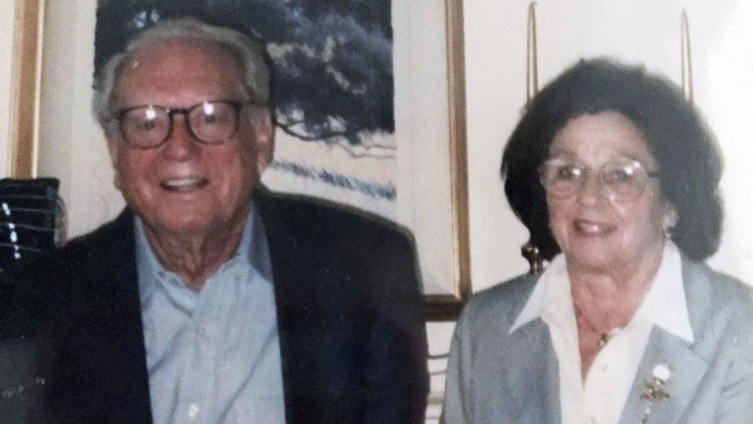 Charles and Sara Rippey died in their Napa home. (Associated Press)