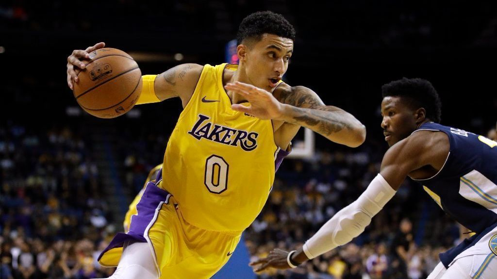 Image result for Kyle Kuzma, Los Angeles Lakers