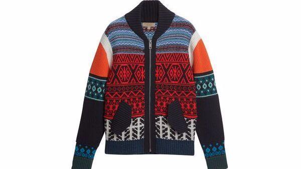 Burberry wool sweater.