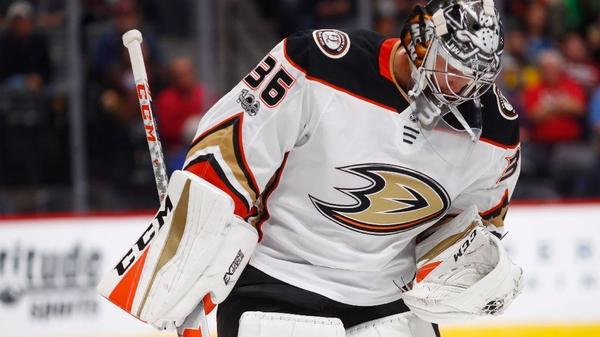 Ducks' Ryan Miller Nears Return As John Gibson Contends With 'freak' Injury