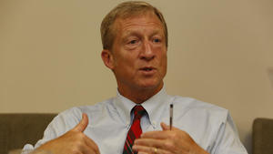 Billionaire activist Tom Steyer says he's considering Senate bid of his own