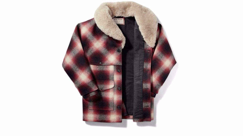 Filson wool plaid Packer jacket.