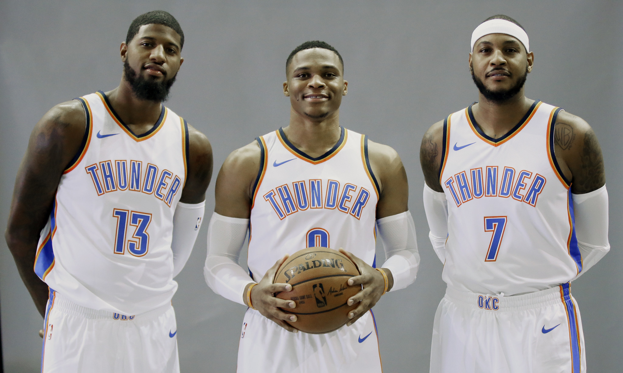russell westbrook's thunder was a one-man band. now he's