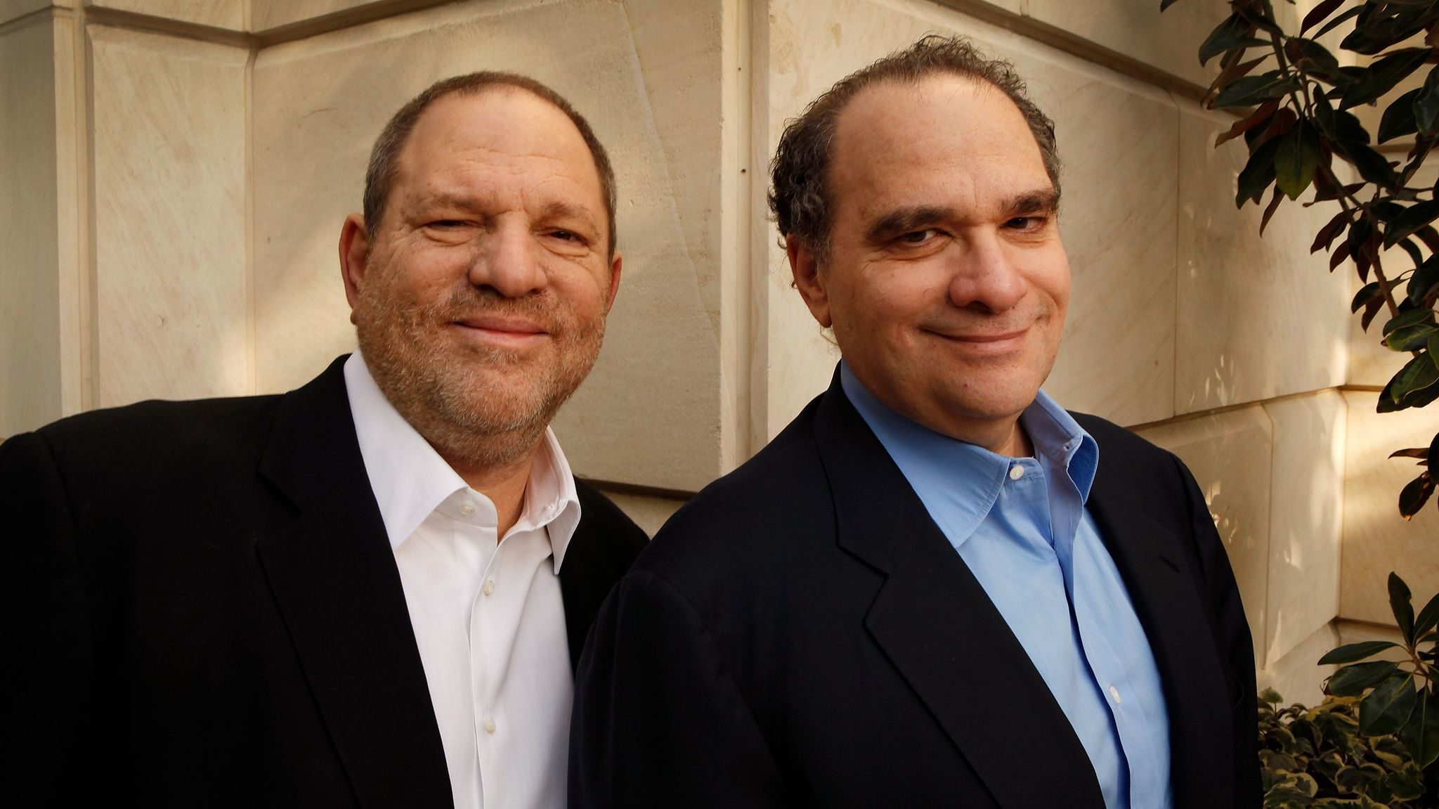 Harvey, left, and Bob Weinstein, at the Peninsula Hotel in Beverly Hills, Calif. on Feb. 24, 2012.