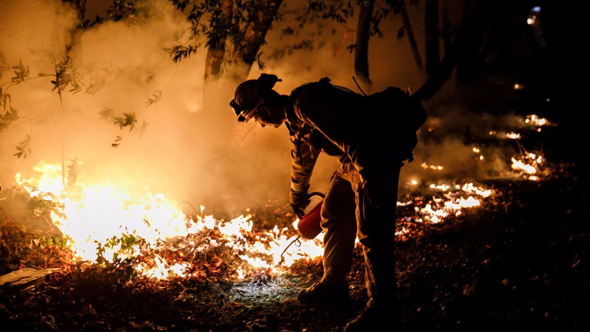 Death toll in wine country fires rises to 41 as driver of water truck dies in rollover accident