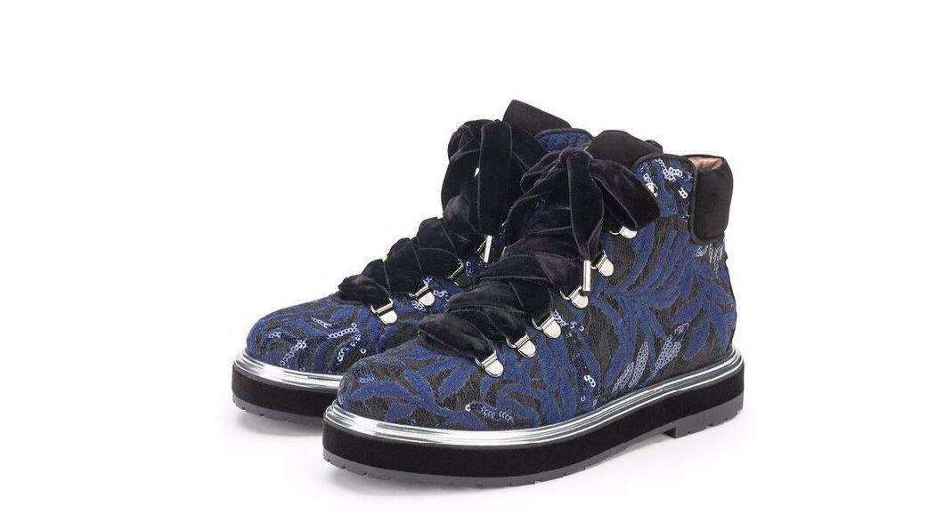 AGL (Attilio Giusti Lembruni) hiking boots.