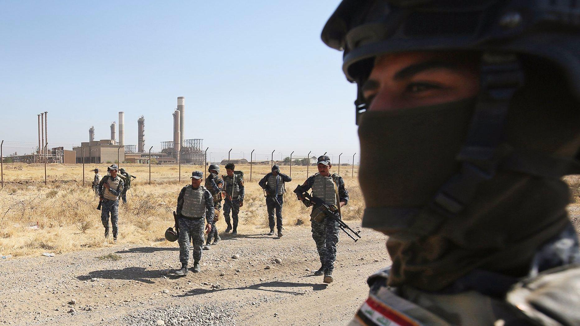Clashes around oil-rich Kirkuk raise specter of a new civil war in Iraq