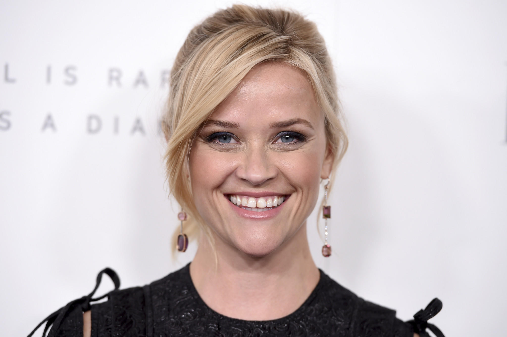 Reese Witherspoon arrives at the Elle Women in Hollywood Awards at the Four Seasons Hotel Beverly Hills on Monday. (Jordan Strauss  /Invision/Associated Press)