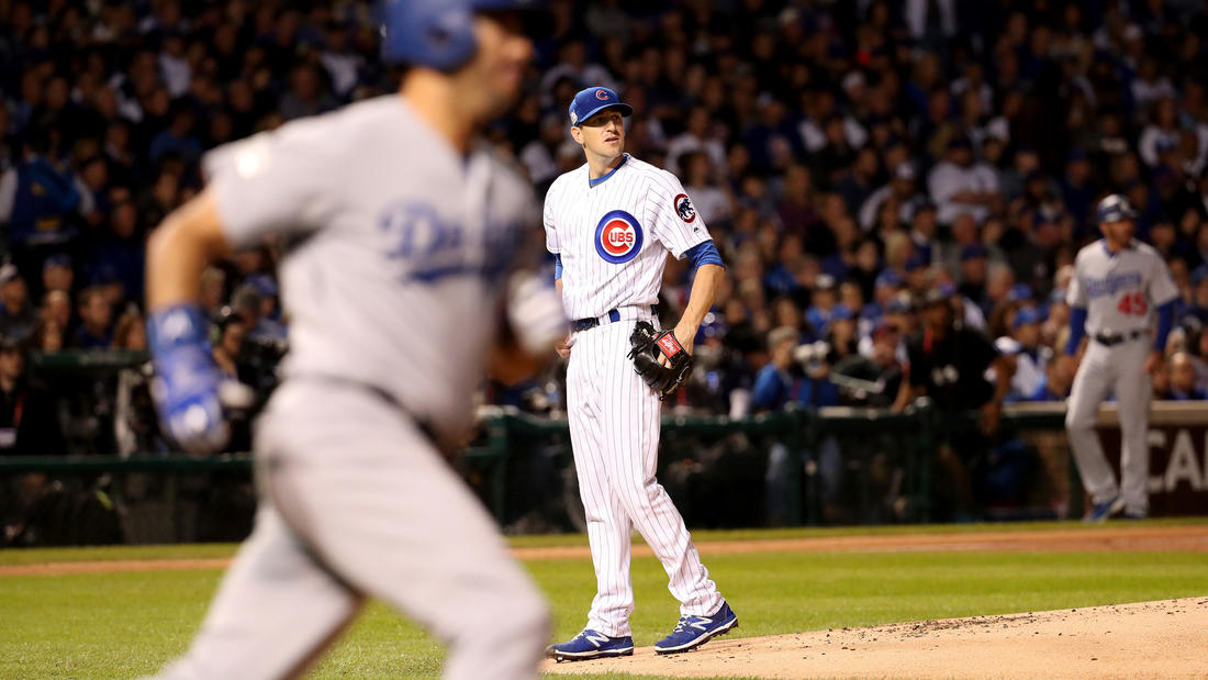 NLCS Game 3: Dodgers 6, Cubs 1