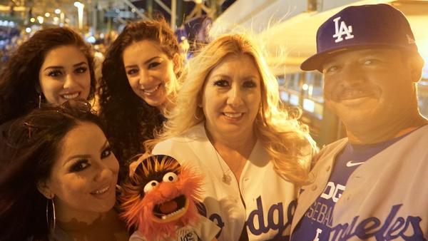 The Palma family: Monique, Natalie, Amanda, Yolanda and Jose. (Mark Potts / Los Angeles Times)