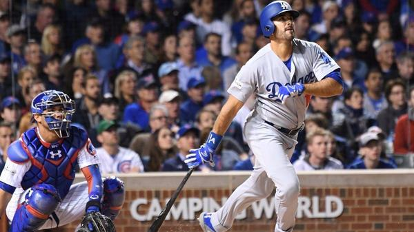Old hand Andre Ethier gets first start, and doesn't waste opportunity