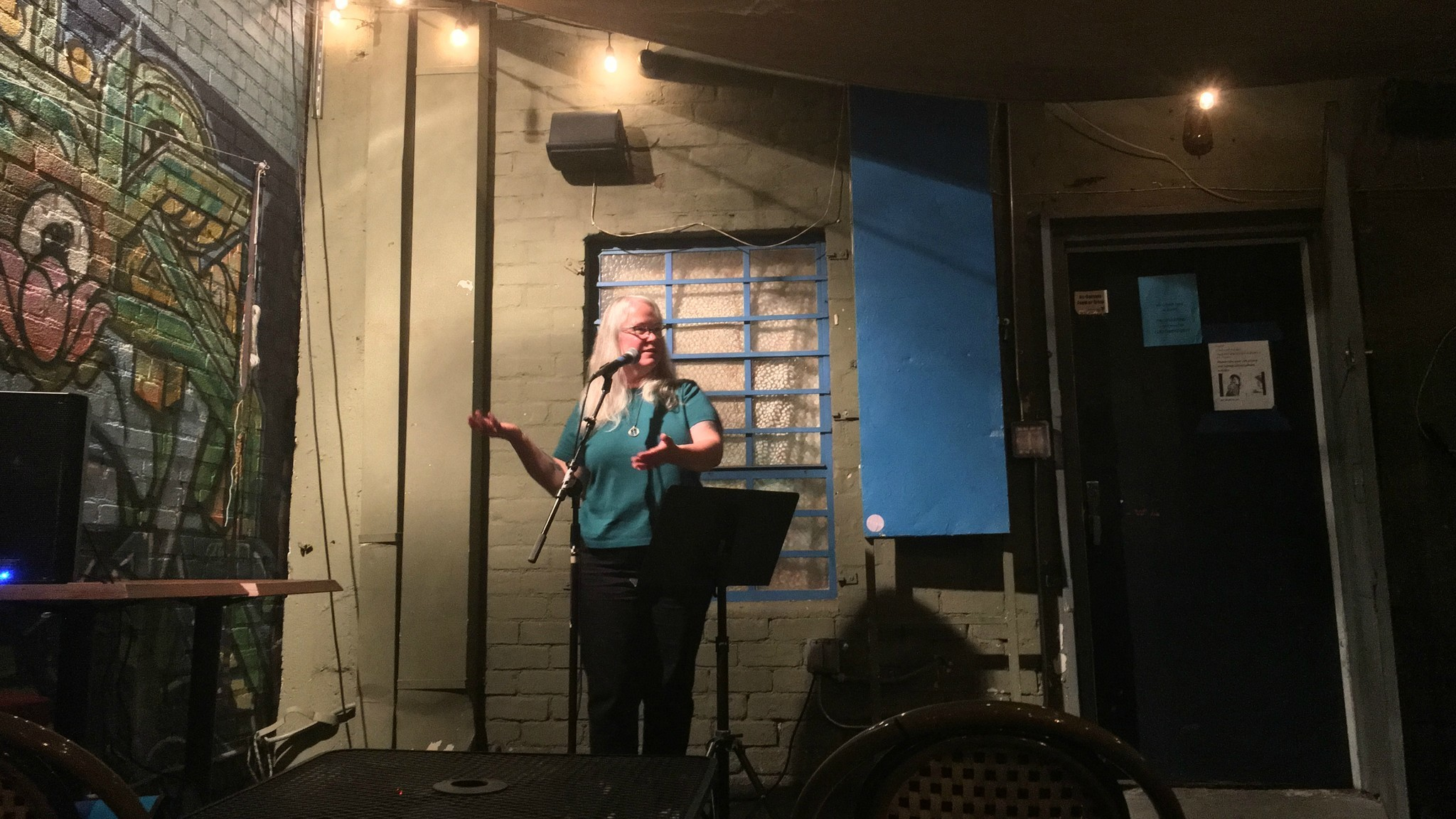"""Loren Rhoads at Stories Books and Cafe in Echo Park for the signing of her book """"199 Cemeteries to See Before You Die."""""""