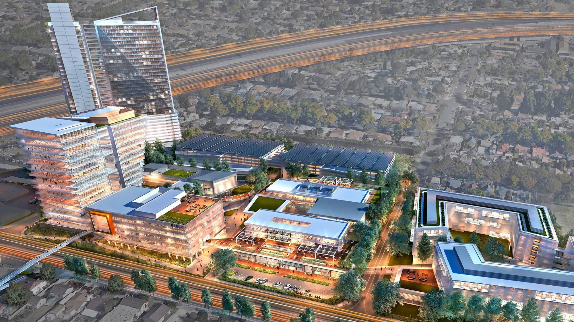 Southern california cities to submit bids for amazon 39 s new - Maison d architecte orange county californie ...