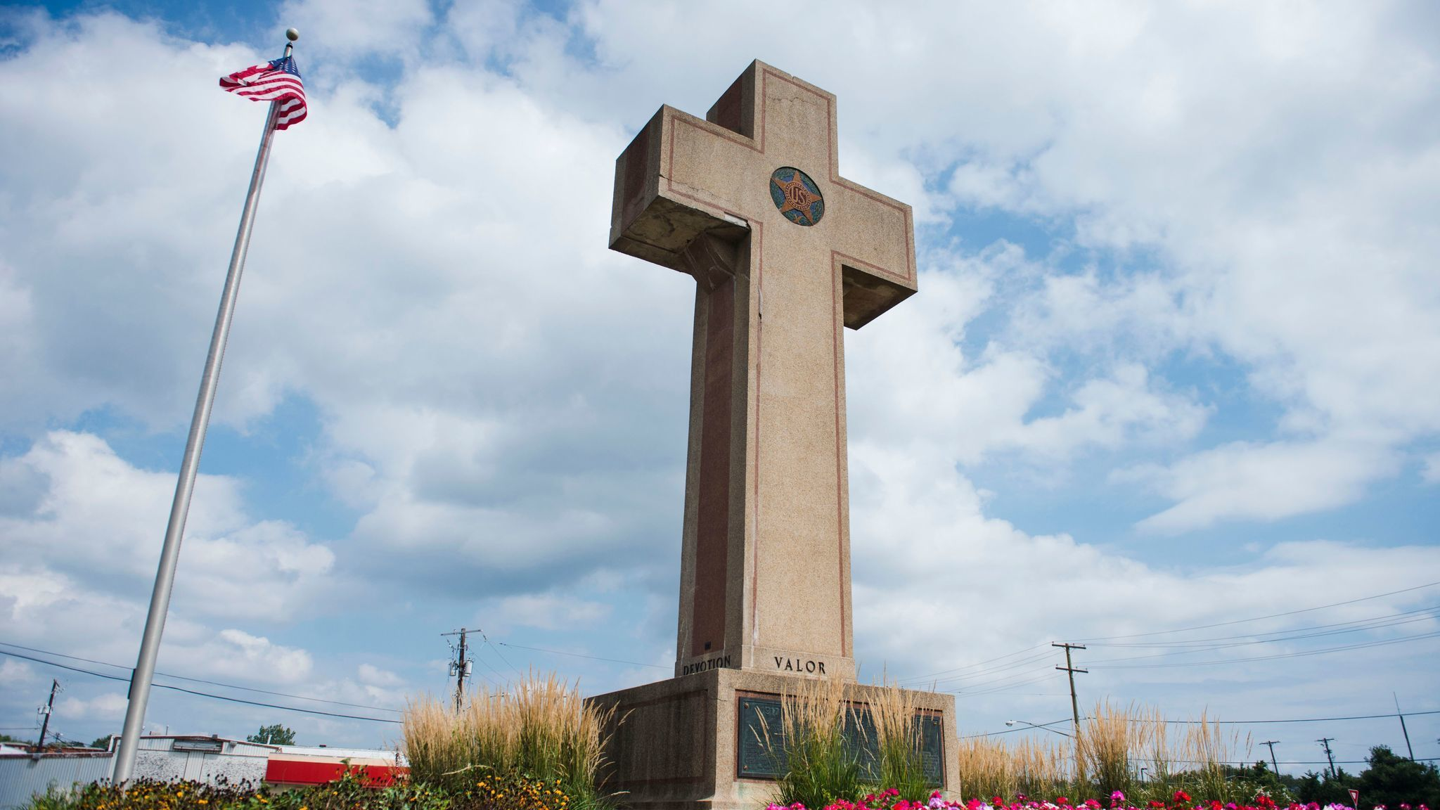 Image result for bladensburg maryland WWI memorial cross