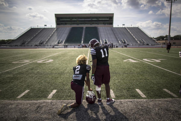 'Faith, family, football': How a Texas town is healing after a cop killed a black teenager