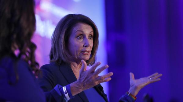 Nancy Pelosi says she hasn't experienced sexual harassment in Washington