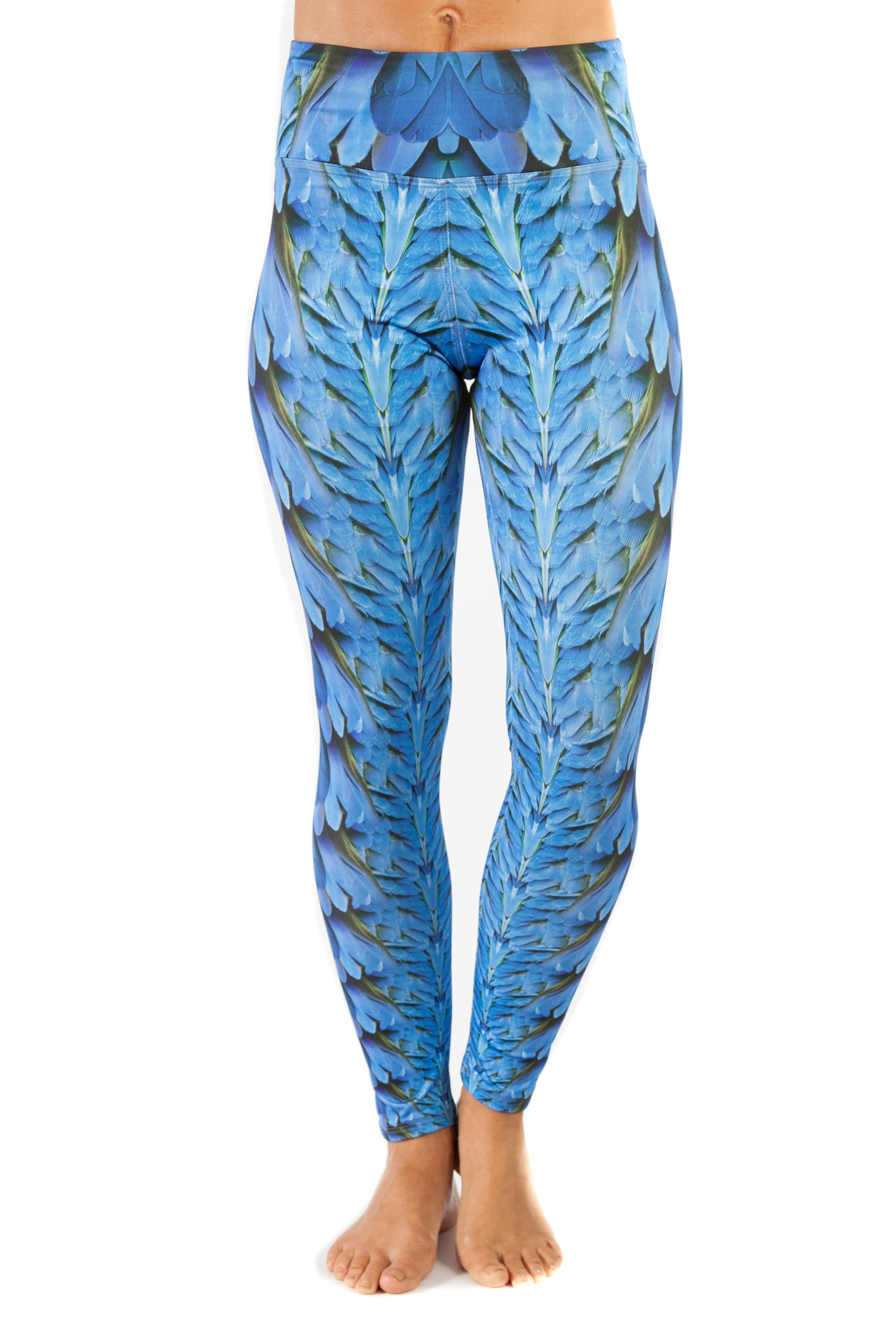 Eco-conscious activewear: Inspire Active Wear (Wing Long Leggings $84)