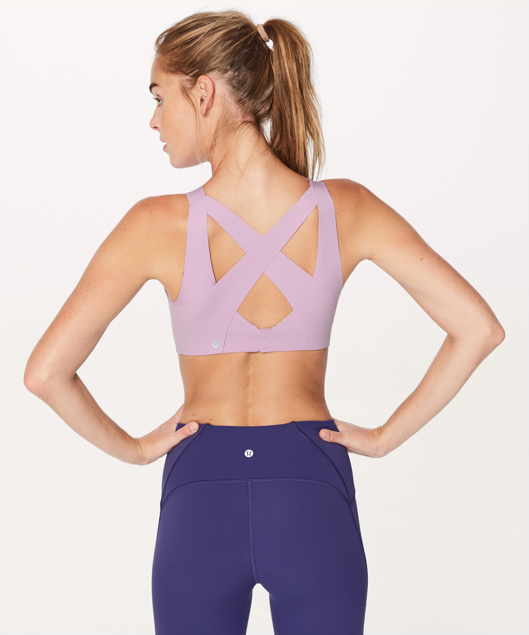 Fit-To Size: Lululemon wasn't at the Activewear trend show but their Enlite Bra is an example of the trend toward more specific sizing: ($98, shop.lululemon.com)