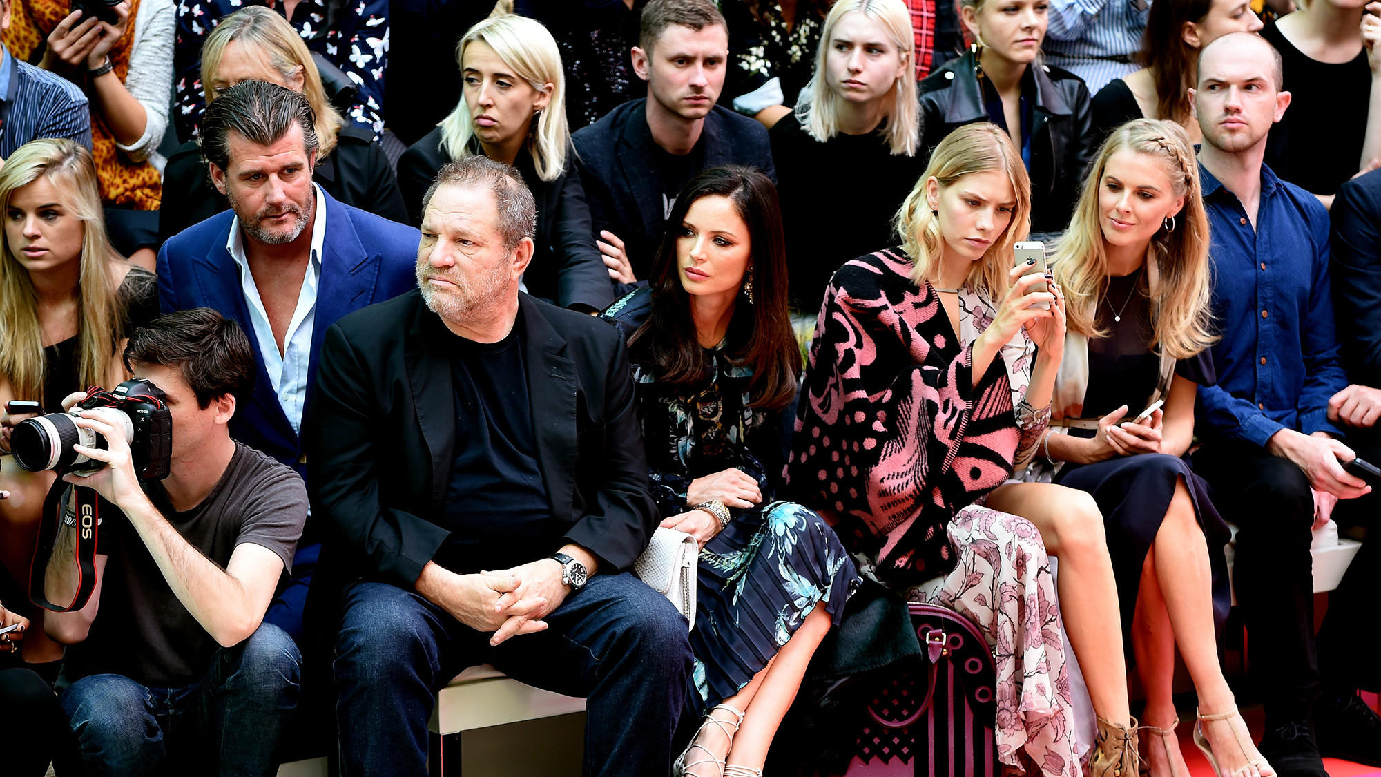 Burberry Womenswear SS15 - Front Row & Show