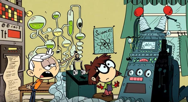 """A scene from Nickelodeon's """"Loud House."""" (YouTube)"""