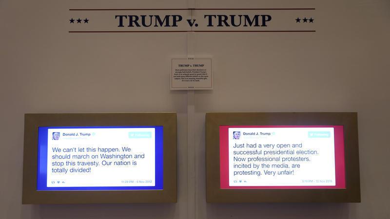 chicagotribune.com - Trump Twitter museum spotlights 'Daily Show's' inventive satire