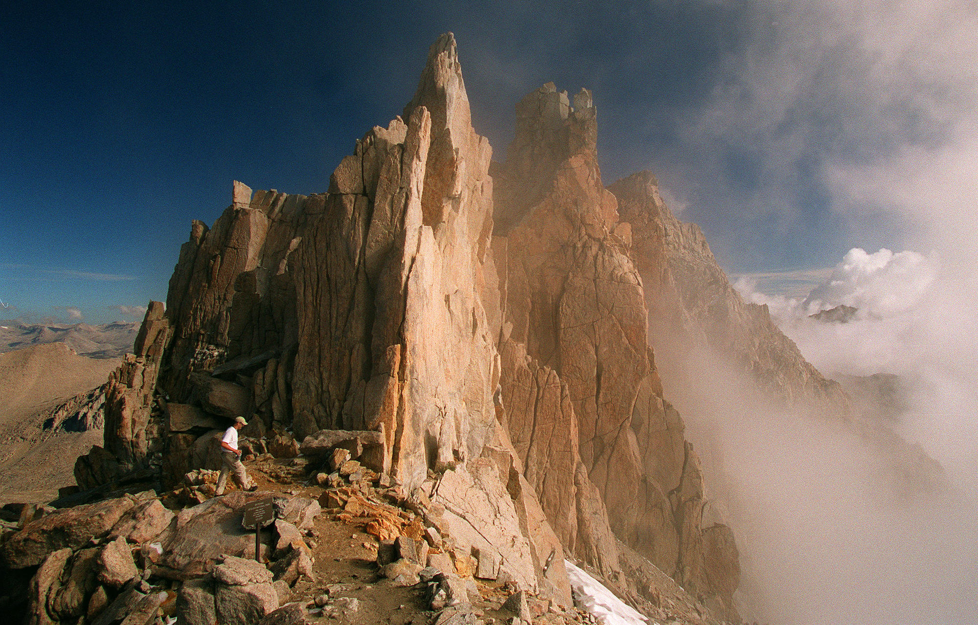Anacleto loved the outdoors, including the majestic Mt. Whitney, which he climbed several times.