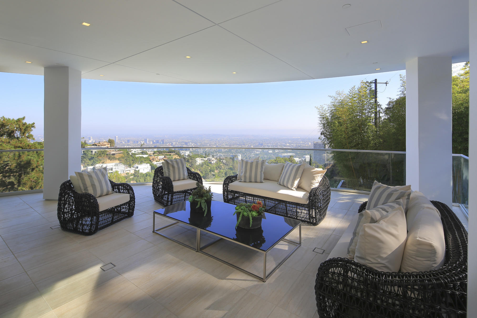 Hollywood hills showplace offers a view to kill and more sun sentinel for 1609 magnetic terrace