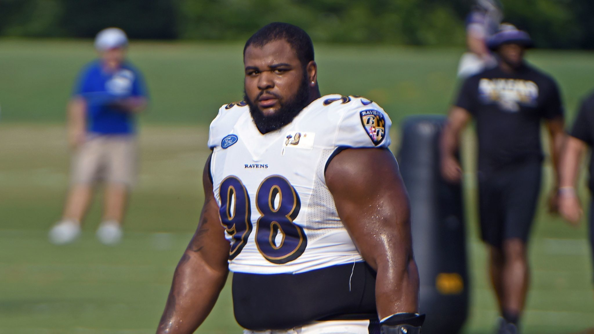 Defensive tackle Brandon Williams appears poised to play Sunday