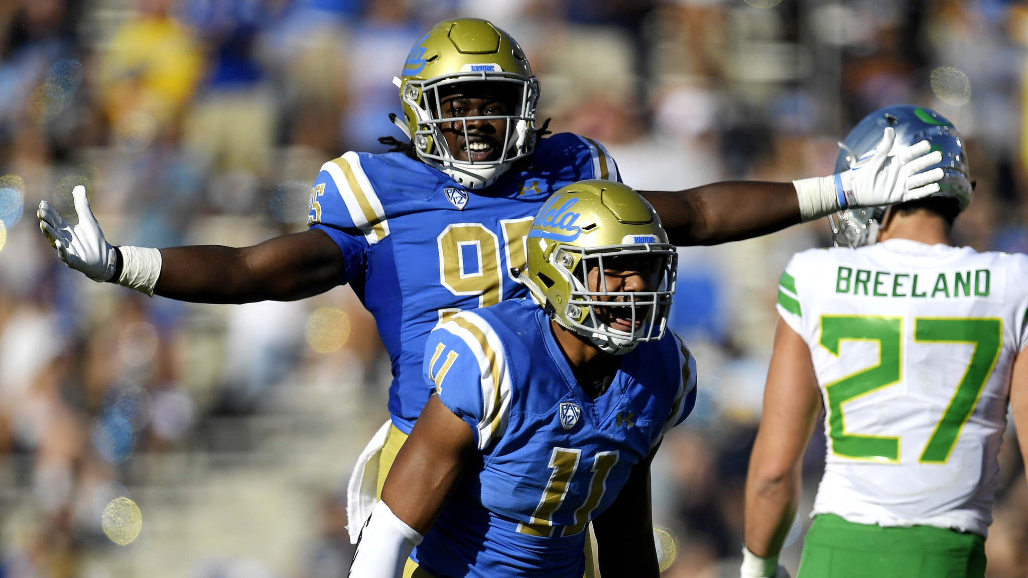 Untested freshmen play big for UCLA after injuries deplete defense