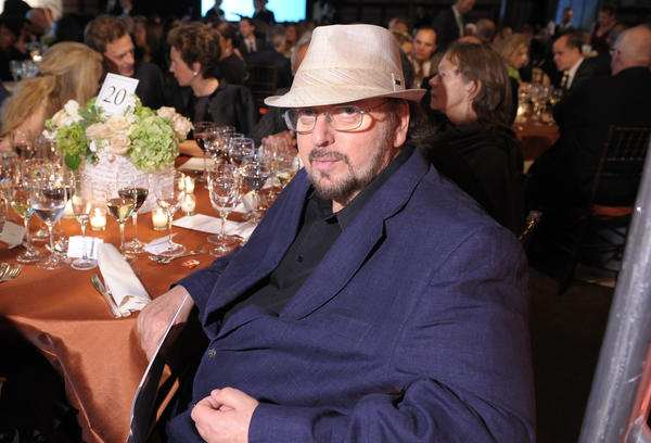 Writer-director James Toback attends the Norman Mailer Center's gala in 2013. (Michael Loccisano / Getty Images)