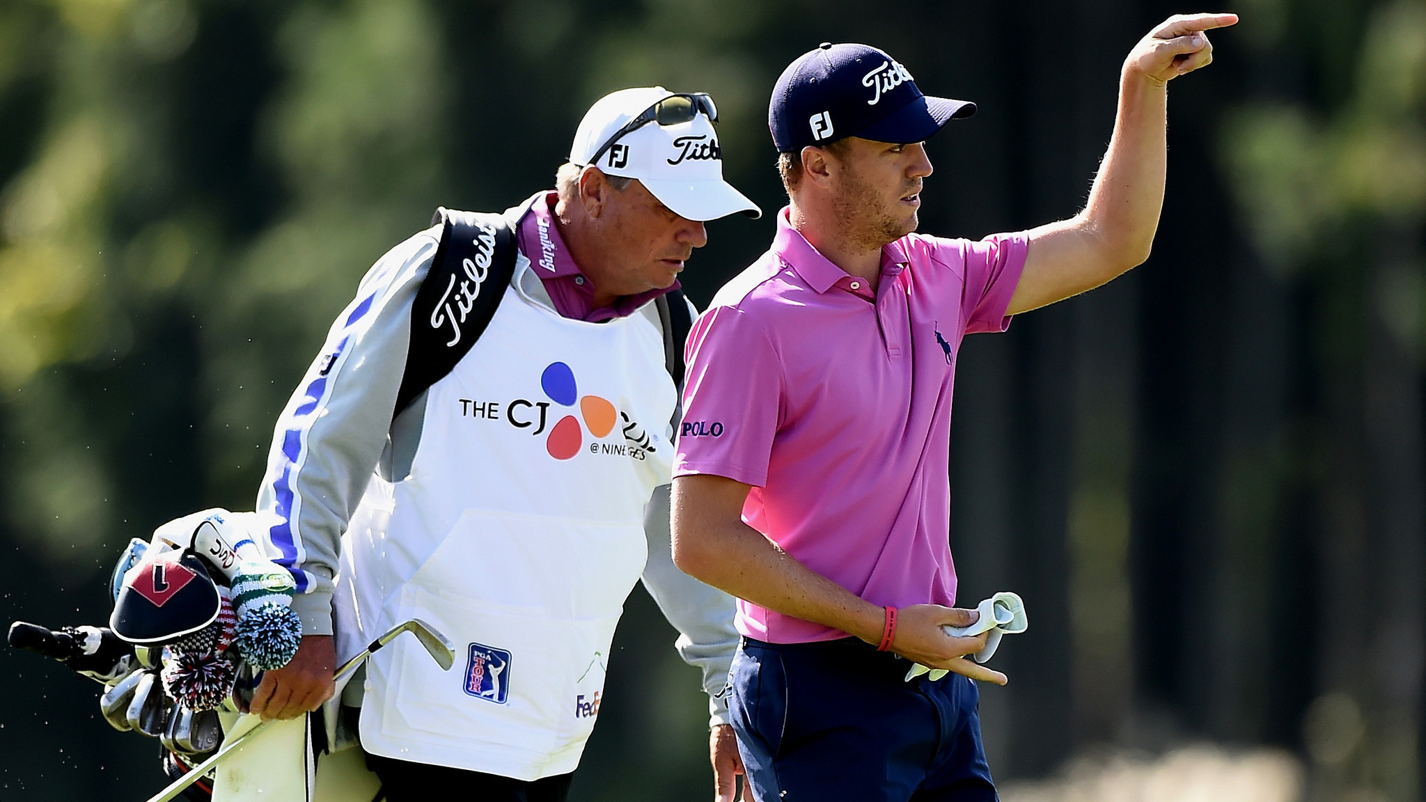 Golf roundup: Justin Thomas wins CJ Cup in a playoff over Marc Leishman