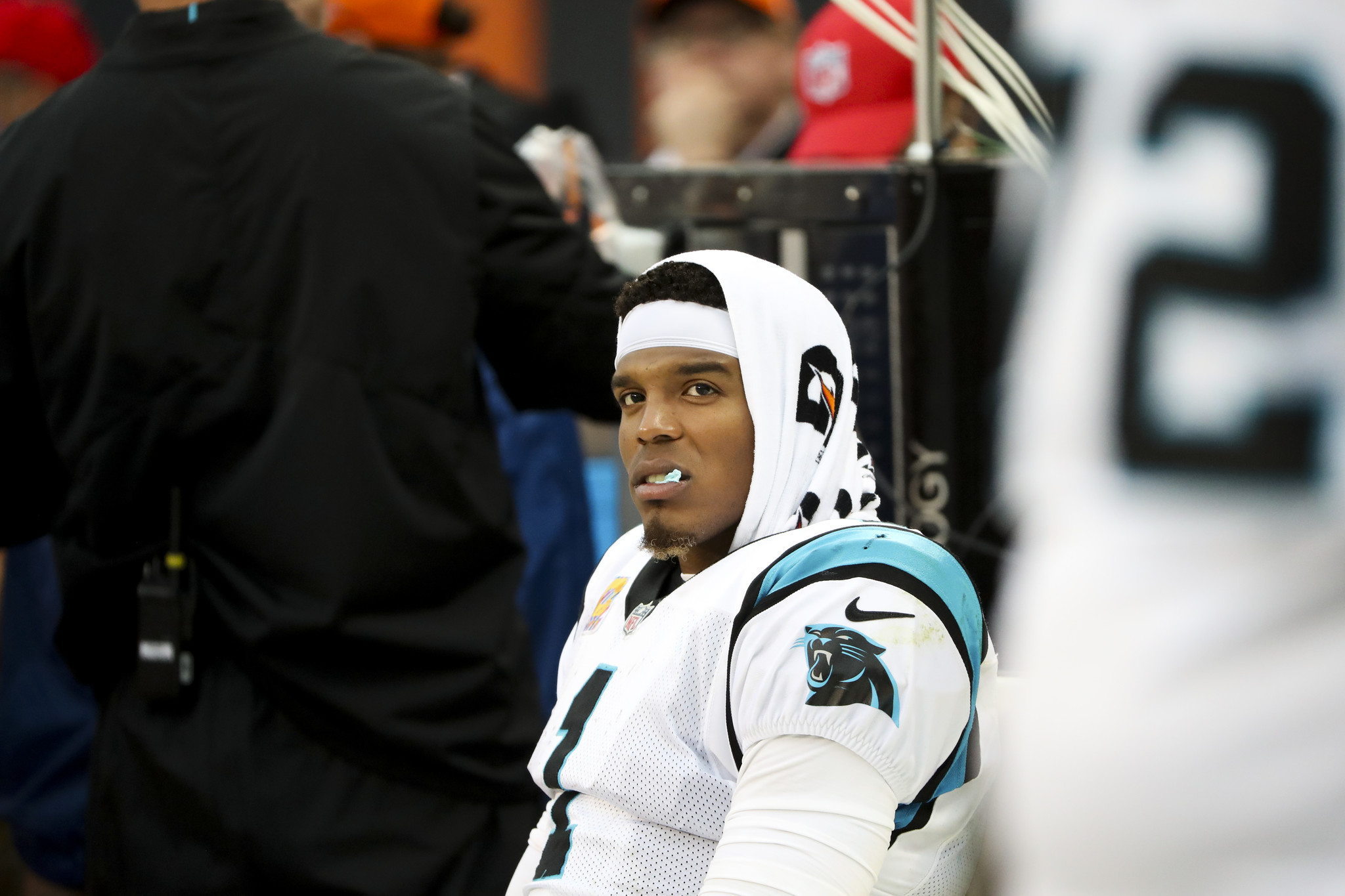 Panthers QB Cam Newton on rocky day We squandered that