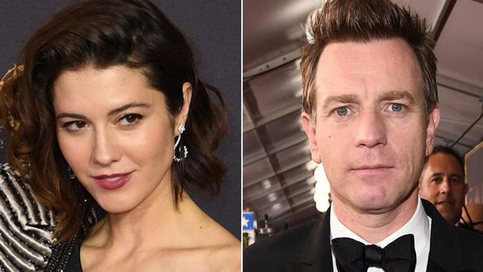 Mary Elizabeth Winstead and Ewan McGregor. (Mark Ralston / AFP/Getty Images, left; Charles Sykes / Associated Press, right)