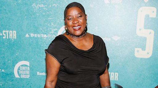 "Loretta Devine at the opening night of ""Bright Star."""
