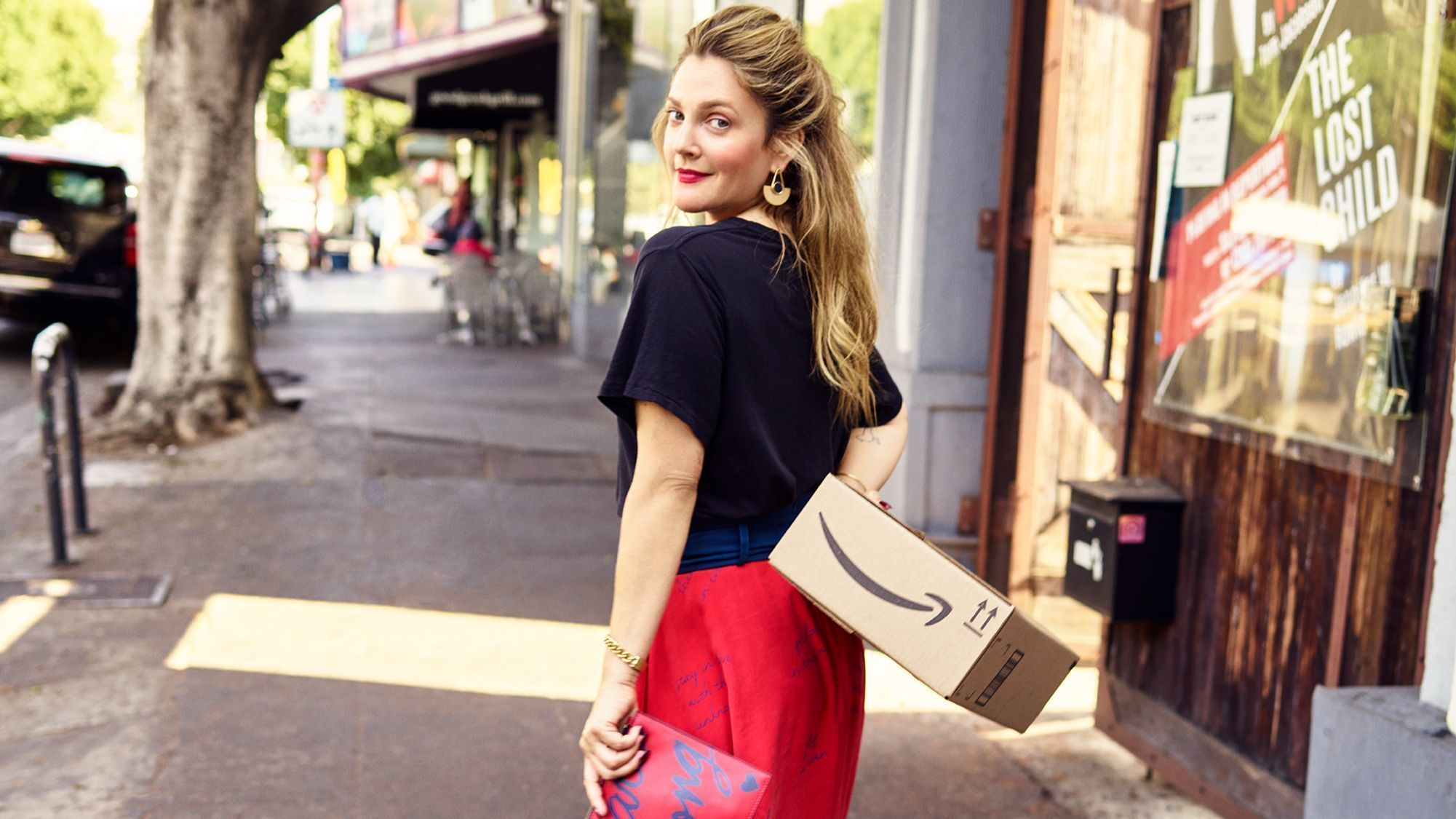 Drew Barrymore launches lifestyle brand on Amazon Fashion