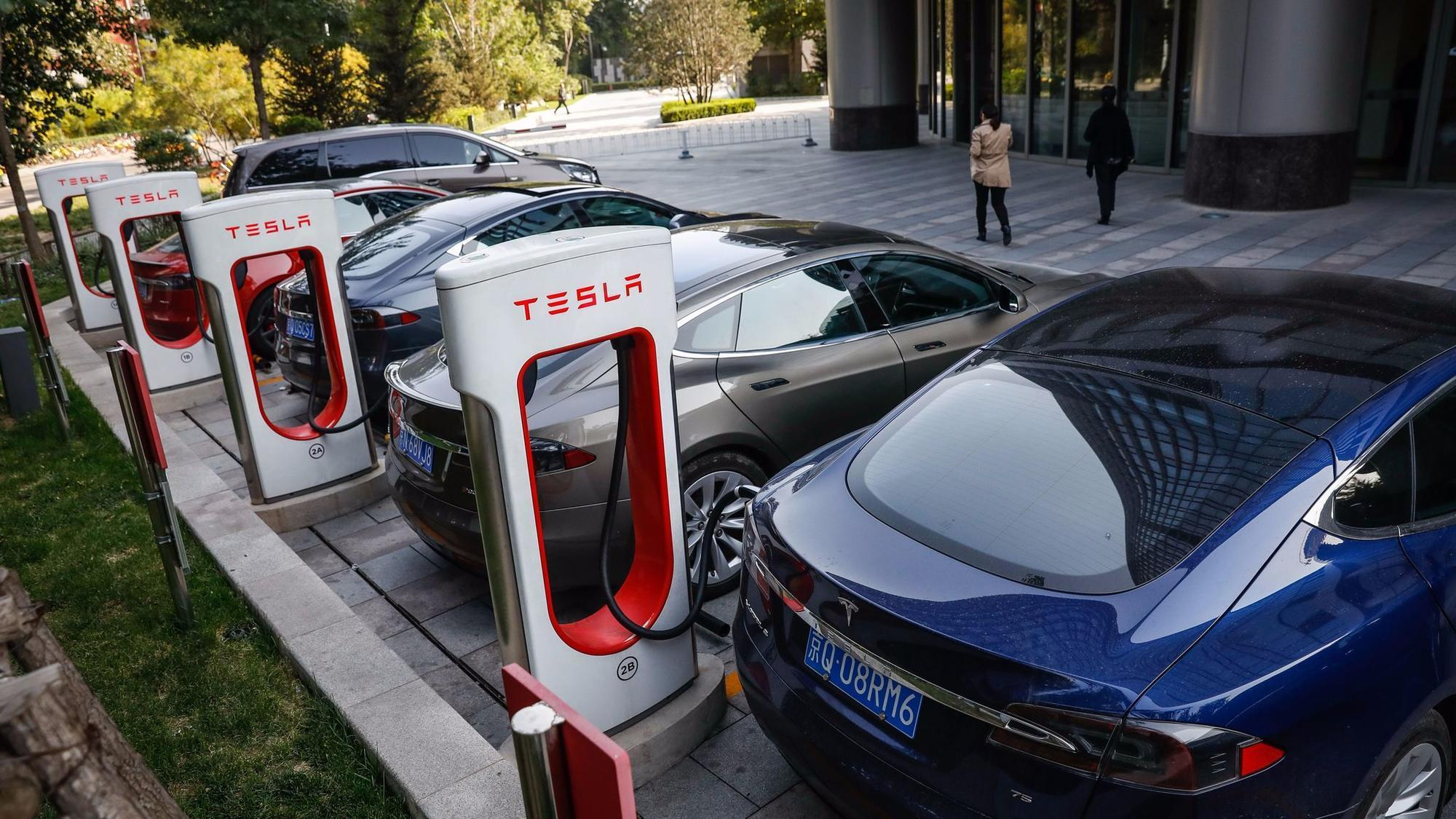 tesla appears ready   cars  china   terms   relationship  unclear la times