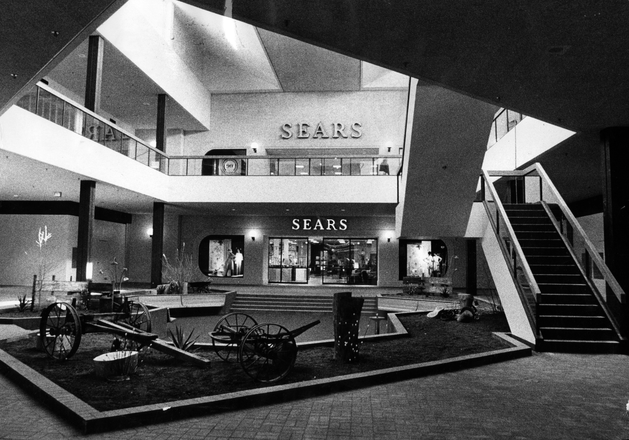 part of orland park sears being recast as amc movie