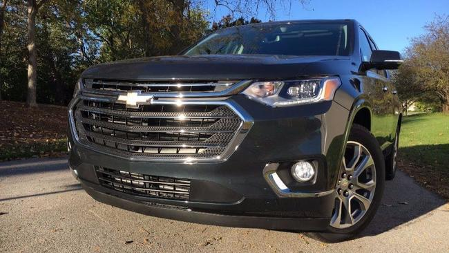Chevy Traverse Premier At A Glance