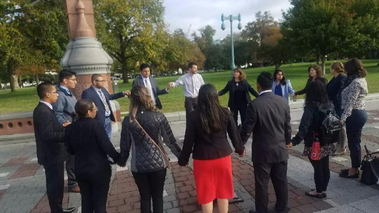 Border Dreamers in Washington, D.C. lobbying for a clean DREAM Act