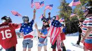 Hitting the slopes in Lake Tahoe