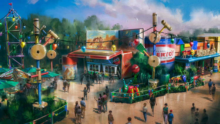 New restaurant planned for Disney Hollywood Studios